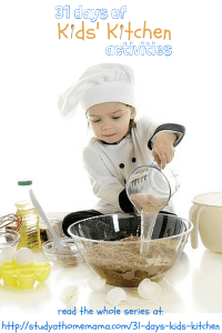 31 days of kids in the kitchen blog hop