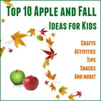 top 10 apple and fall ideas for kids