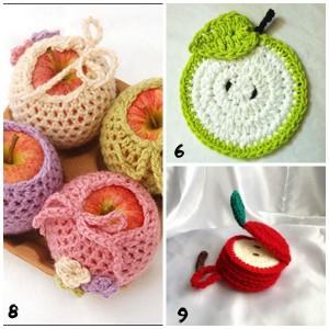 apple fall crochet projects for teens tweens