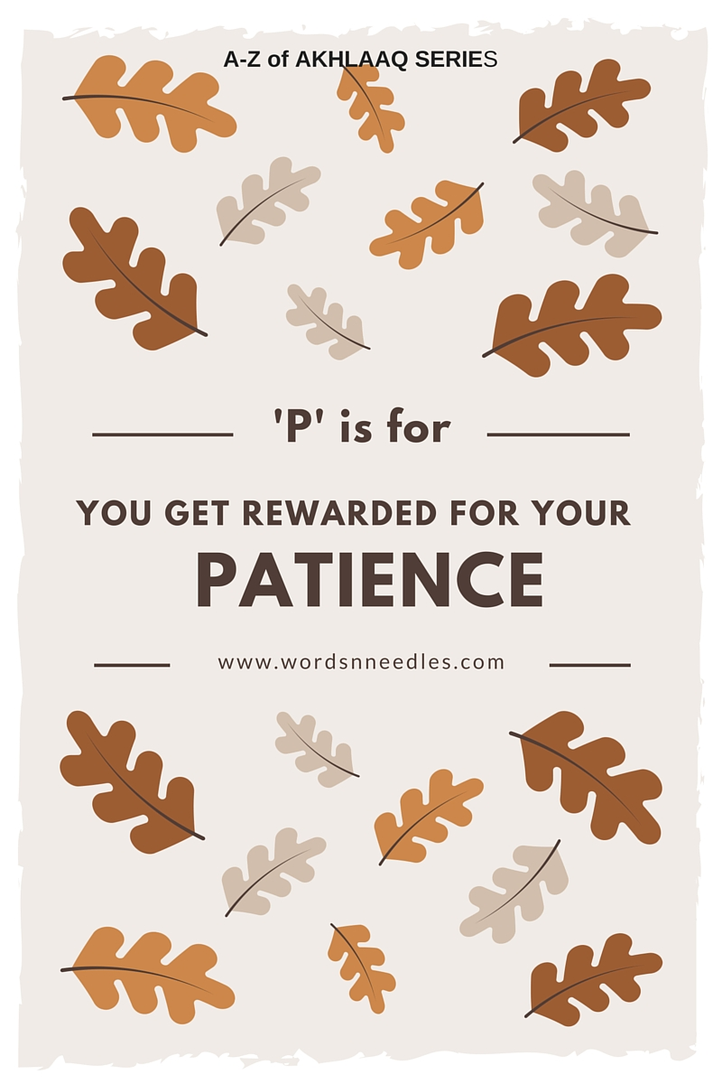 patience in Islam Sabr meaning How to teach Sabr to children