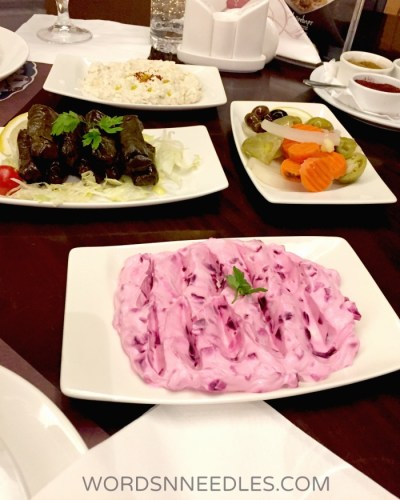 Sultan Pembe Kosebasi Restaurant WordsnNeedles Food Review