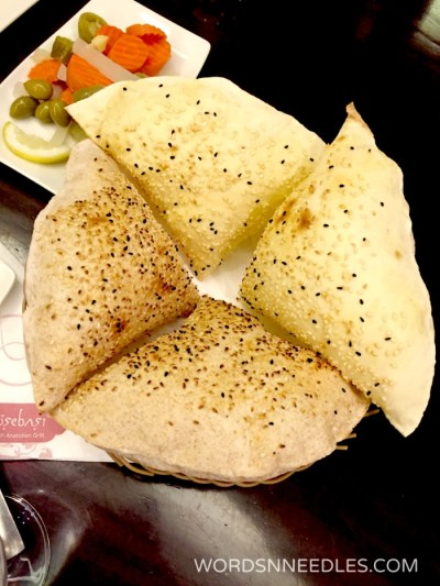 turkish pita bread Kosebasi Restaurant Jeddah food review