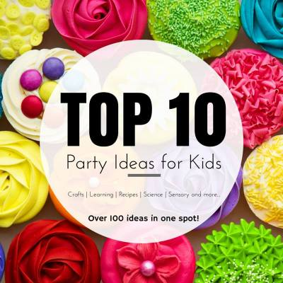 top 10 party ideas from kid bloggers