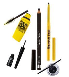eye liner eye pencil mascara