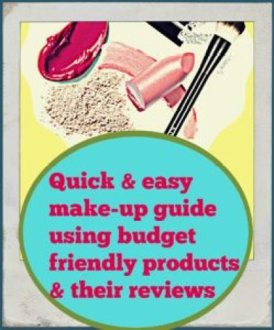 quick & easy make up quide budget friendly products reviews