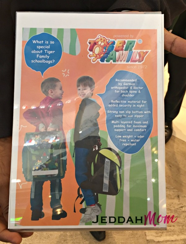 Tiger german recommended back to school choose the right bag