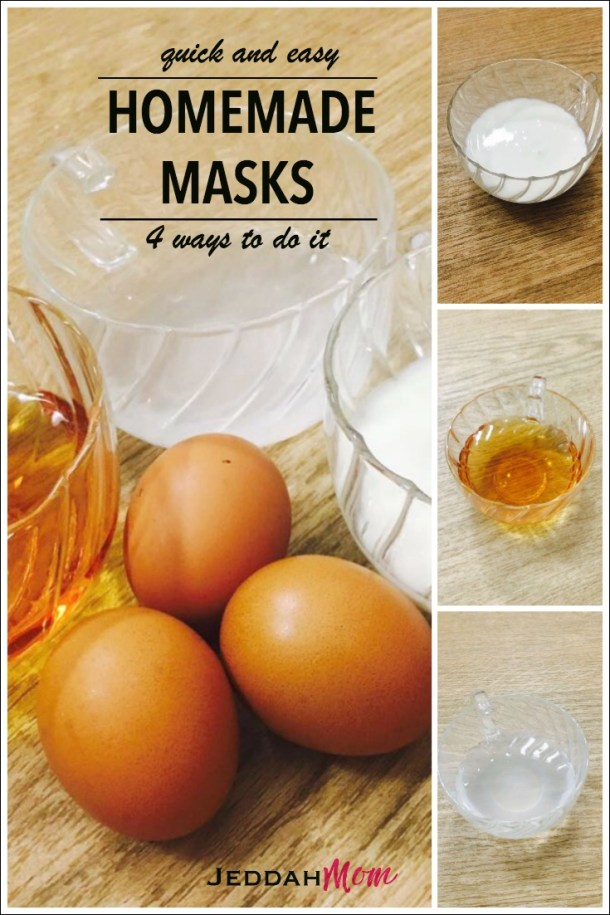 All natural Homemade masks for busy moms to do it yourself JeddahMom
