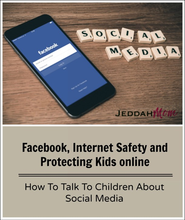 How to talk to Kids about Internet Safety and Facebook.