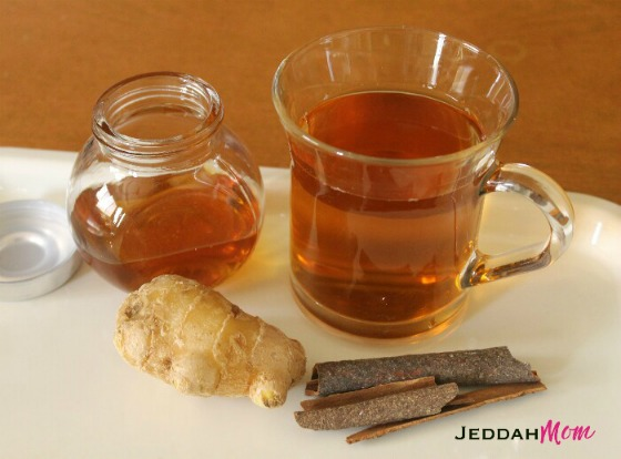 Ginger Cinnamon Tea Home Remedy for cough