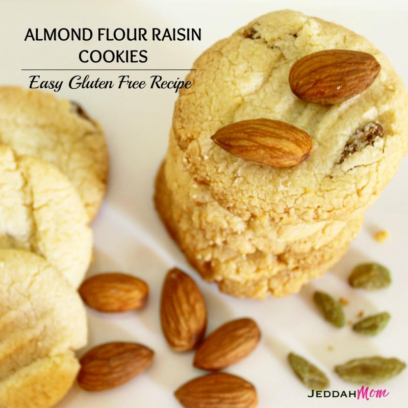 Almond Flour Raisin Cookies Recipe