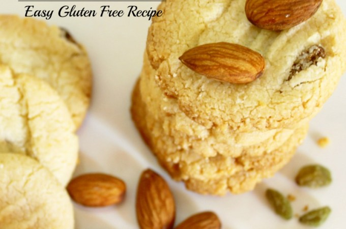 Almond Flour Raisin Cookies Recipe