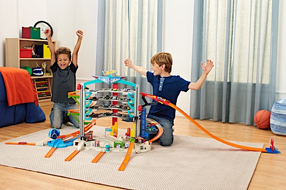 Top Ten Toys from Mattel Discover mega action and big adventures with the Ultimate Garage