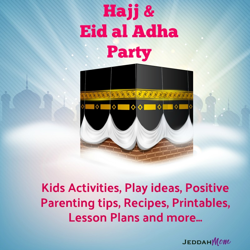 10 Simple Hajj Activities for Children + Hajj and Eid al Adha Link Up