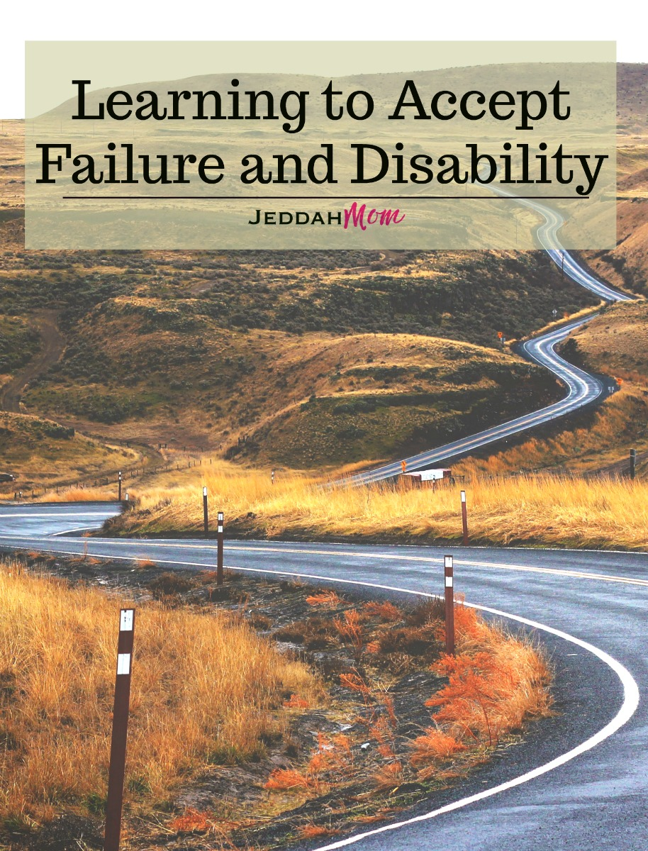 Learning to accept failure and disability. A mother's journey to confident and deliberate parenthood. Having faith