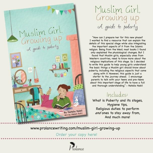 Muslim Girl, Growing Up Launch Poster | JeddahMom