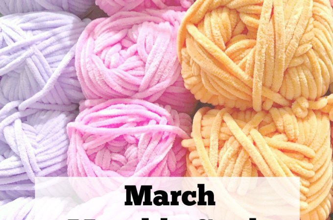 What's up on JeddahMom – March Monthly Goals 2018
