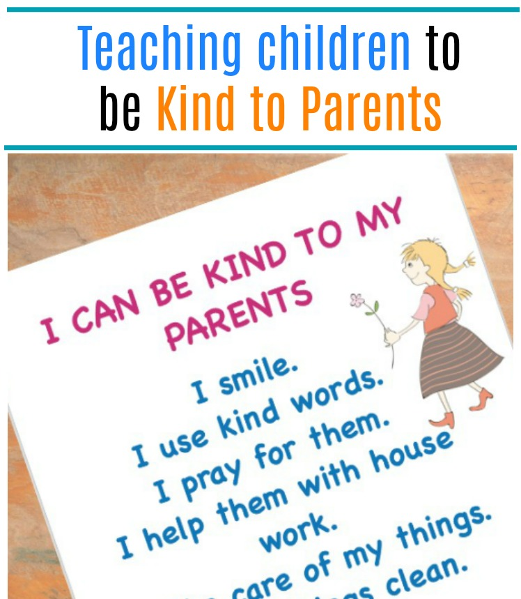 Different ways to be kind to parents Islamic manners for children
