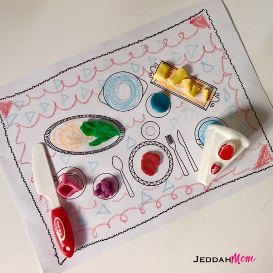 Ramadan Coloring and Craft Book Playdough JeddahMom