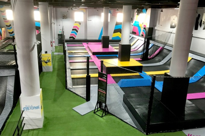 Bounce Inc. Jeddah- Review + Summer Camp