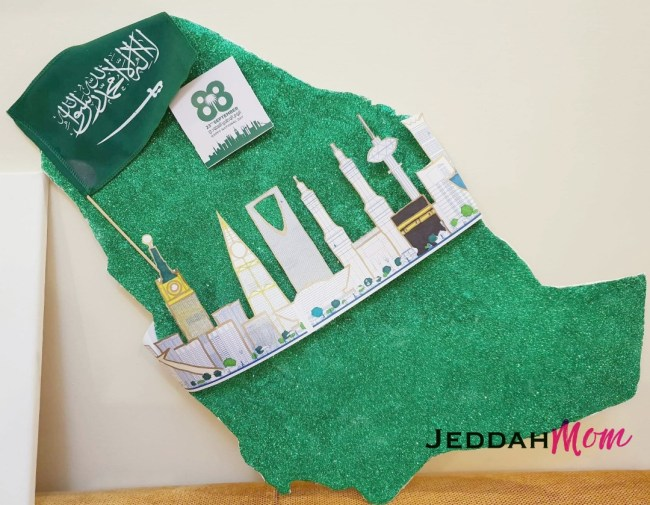 Saudi National Day project Jeddah MOm