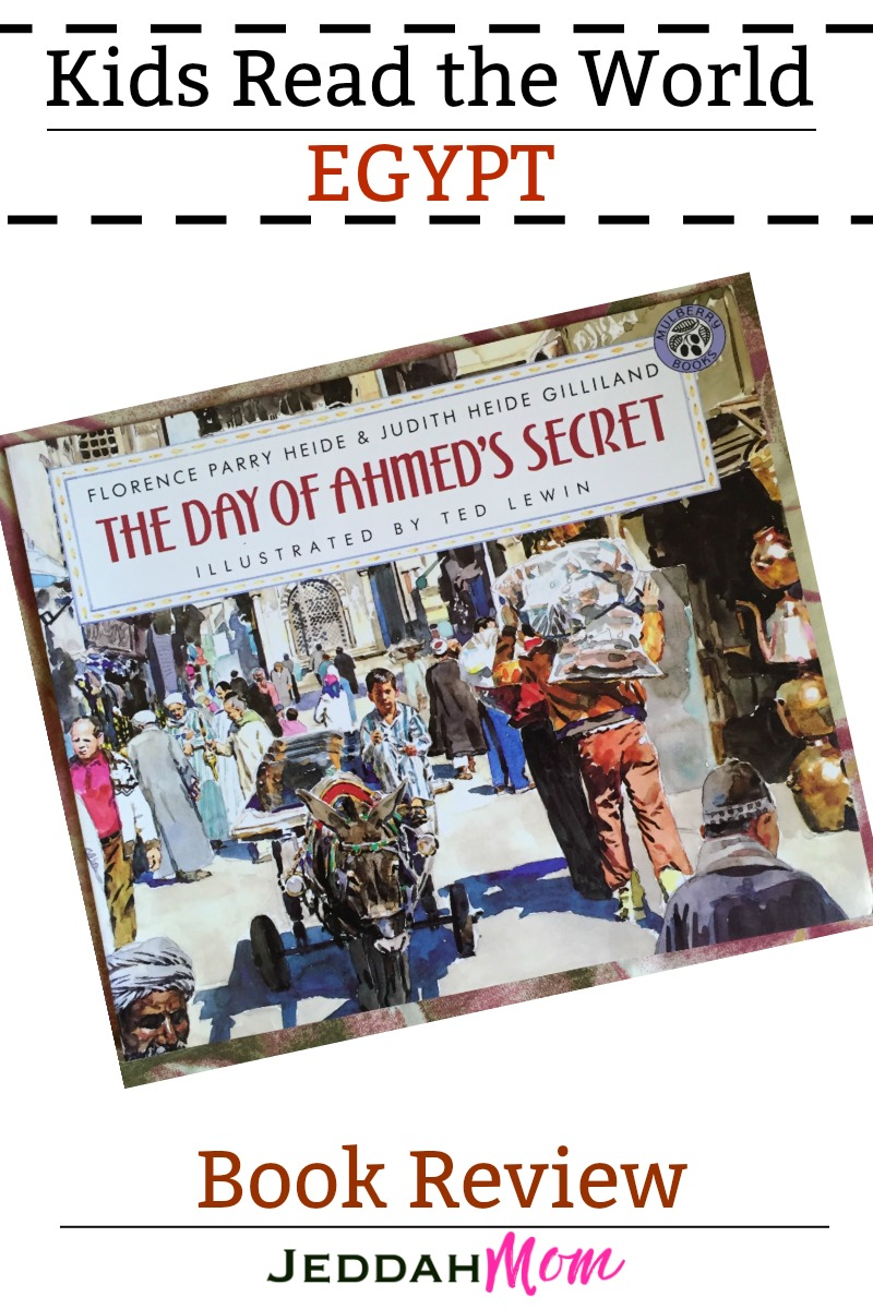 Kids Read the World Egypt The Day of Ahmeds's Secret