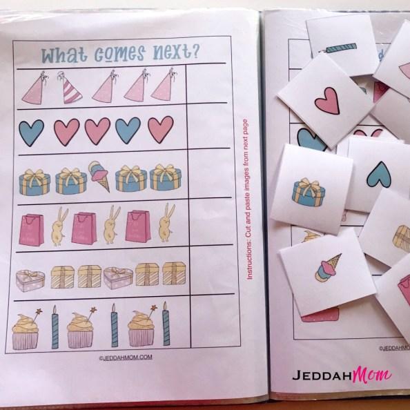 Birthday Preschool Activity Pack Printables