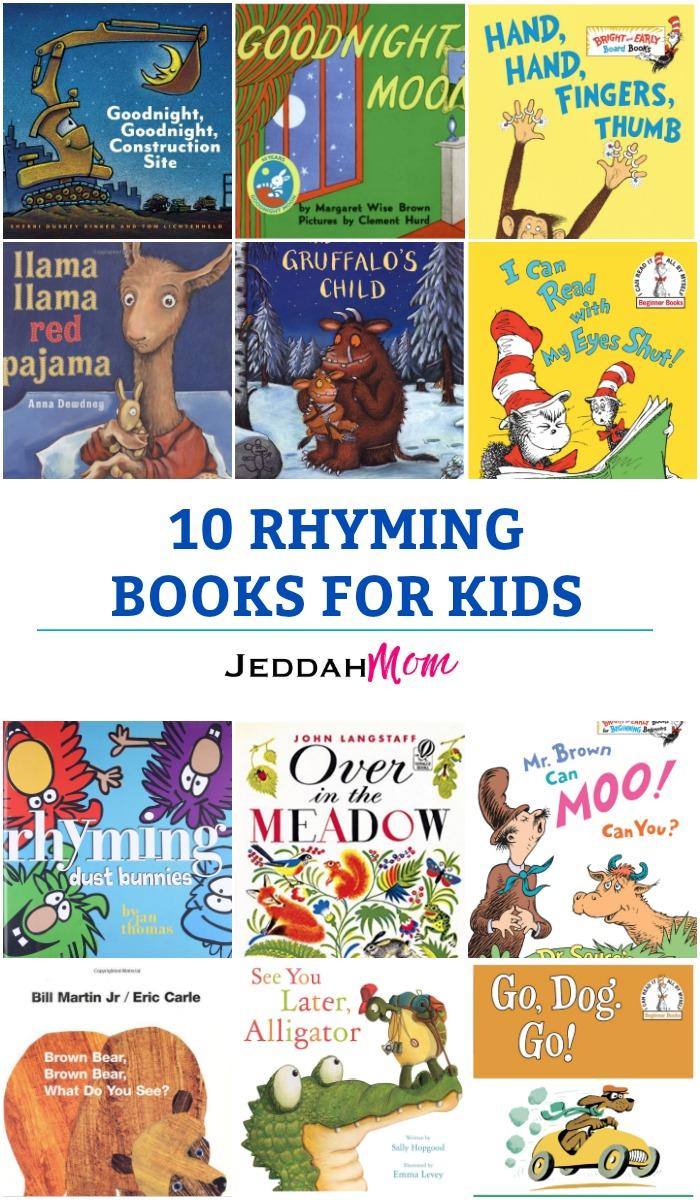 Rhyming Books for kids Jeddah MOm