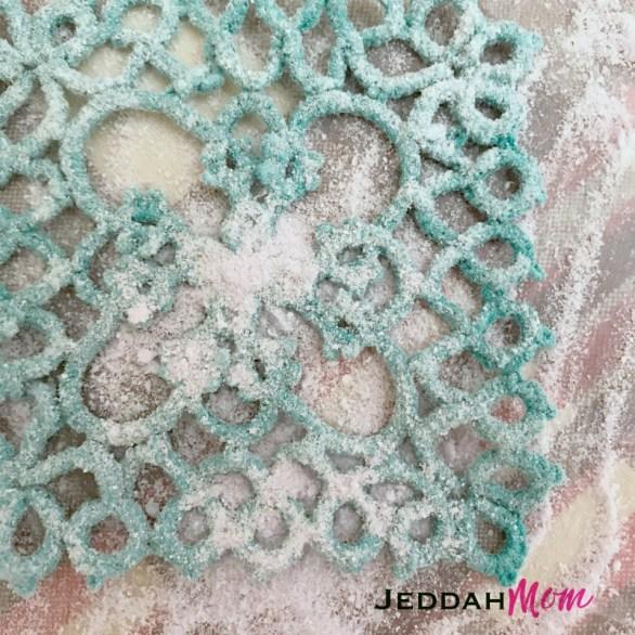 using wax to stiffen ornaments jeddahMom