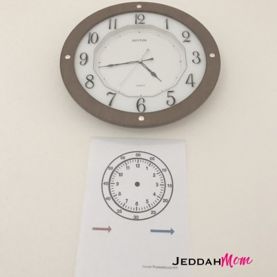 Telling time for preschoolers. Help children read time _JeddahMom