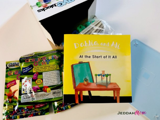 Dahlia and Ali atthe Start of it all book review plus toy review jeddahmom