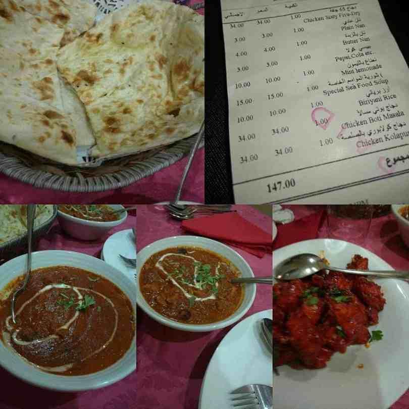 مطعم باب الهند جدة المنيو والاسعار والعنوان