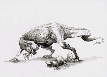 Allosaurus et platypus