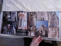 Photos from Sagrada Familia; the photos are so detailed, and I wanted them to be the focus, so I didn't add many other elements on the page.