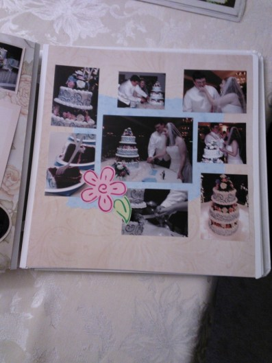 I need to go back and journal on this page about the cake and who made it, etc.