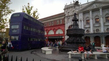 The Knight Bus outside King's Cross