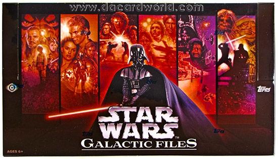 Verzamelkaarten, ruilkaarten Losse kaarten Star Wars Galactic Files Complete Heroes On Both Sides Chase Card Set HB1-10