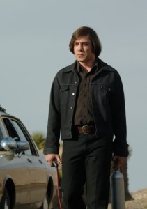 Javier Bardem plays hitman Anton Chigurh in the Coen brothers' No Country For Old Men