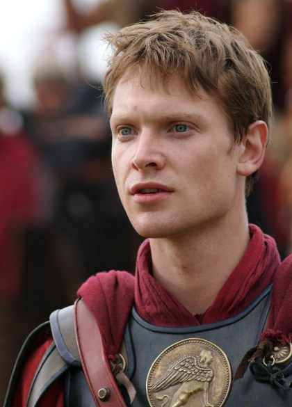 """Augustus Caesar from the HBO/BBC TV series of """"Rome."""""""