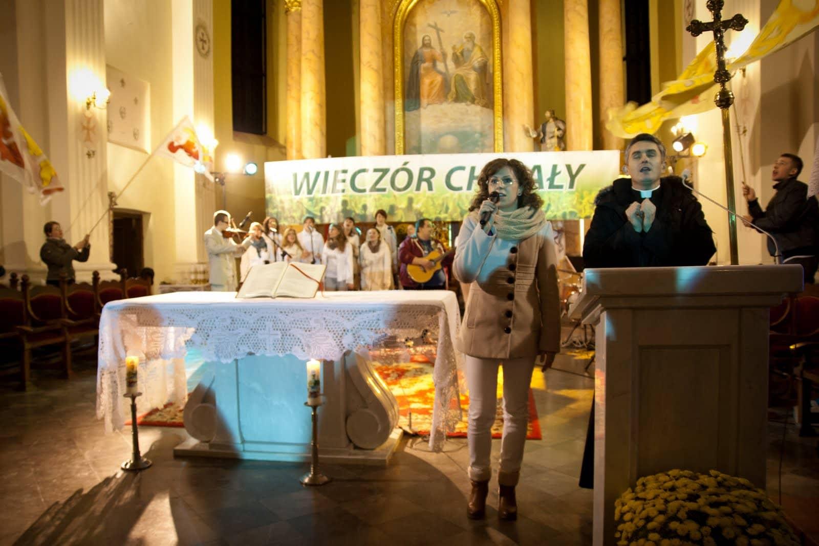 Wspólnota Jednego Ducha, Wieczór Chwały, Wieczór Chwały w Drohiczynie, 2012.11.16