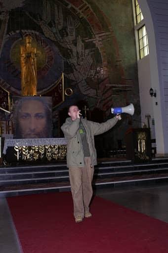 Wspólnota,  Wspólnota Jednego Ducha,  Ewangelizacja,  Ewangelizacja pierwsze spotkanie z młodzieżą, 2010.02.26
