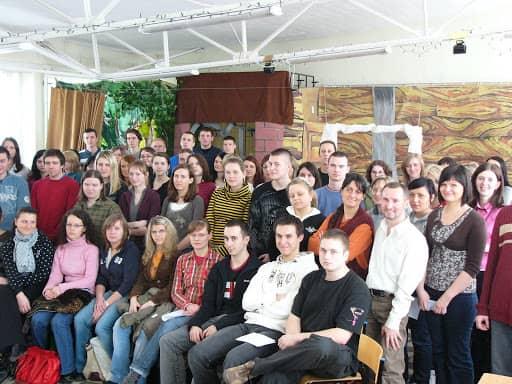 Wspólnota,  Ewangelizacja,  Ewangelizacja Siedleckich szkół i uczelni, 2008.03.13