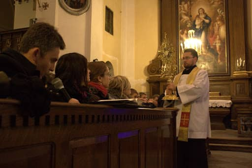 Wspólnota,  Wspólnota Jednego Ducha,  Skupienia, Skupienia przed bierzmowaniem w Węgrowie, 2011.01.24