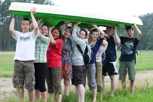 Wspólnota,  Wspólnota Jednego Ducha,  Spływ Kajakowy, 2011.06.18