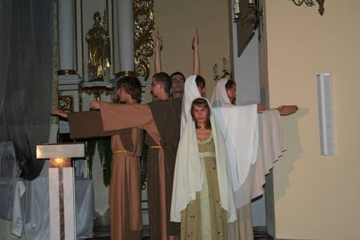 Wspólnota, Wspólnota Jednego Ducha, Rekolekcje, Zraniony Pasterz, Zraniony Pasterz w Międzyrzecu Podlaskim, 2007.09.16