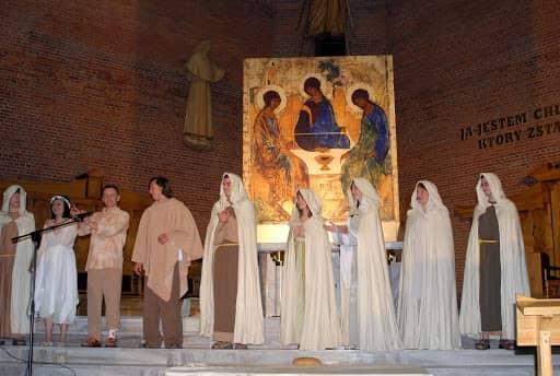 Wspólnota, Wspólnota Jednego Ducha, Rekolekcje, Zraniony Pasterz, Zraniony Pasterz w Białej Podlaskiej, 2007.10.21