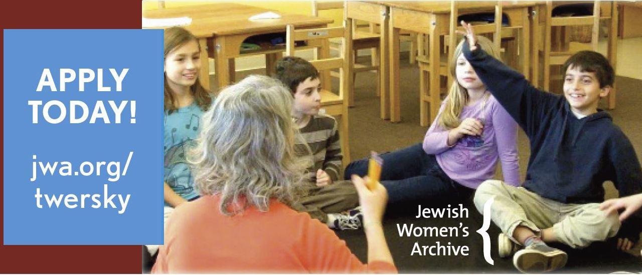 JWA Seeking Nominations for Natalia Twersky Educator Award