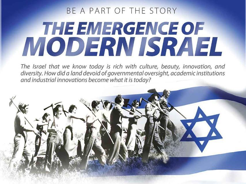 The Emergence of Modern Israel Online for 10th – 12th Graders