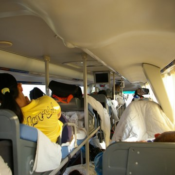 Sleeper Bus do Pekinu