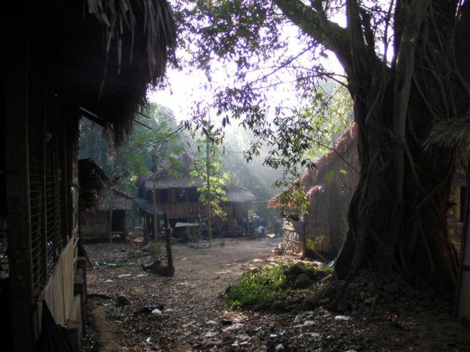 Start wejścia na Mt. Kaikto