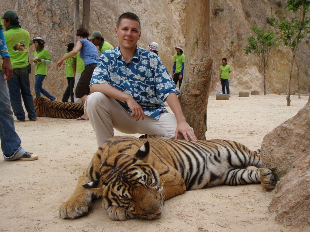 Rezerwat Tygrysów w Kanchanburi